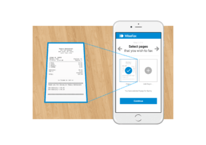 WiseFax will convert your document to fax